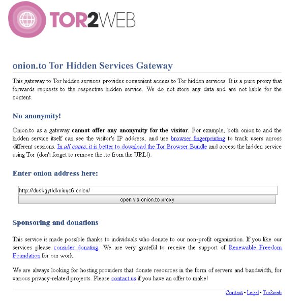 access Deep Web without TOR